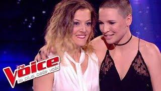 The Voice 2015│Anne Sila & Camille Lellouche - Destin (Céline Dion)│Demi Finale