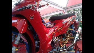 Modifikasi Honda Absolute Revo Drag Style Thailook Full Accessories
