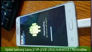 Update Samsung Galaxy J2 SM-J210F (2016) Android 6.0.1 Marshmallow