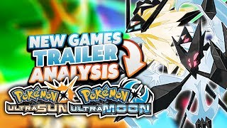Pokemon Ultra Sun And Ultra Moon Trailer Analysis - NEW ULTRA FORMS!?