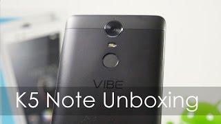 Lenovo K5 Note Unboxing & Overview Retail Unit