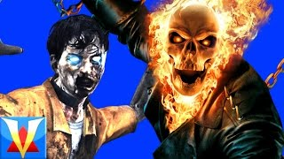 GHOST RIDER!! Left 4 Dead Marvel Zombie Mod