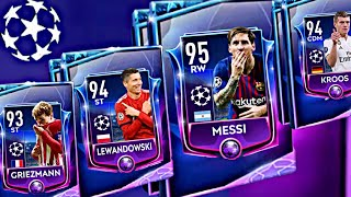 CHAMPIONS LEAGUE BUNDLE PACKS OPENING ! How to get champion masters in fifa mobile 19