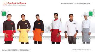Hotel Uniforms | Caterers Uniforms | Chef Uniforms | Industrial & Corporate Uniforms