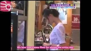 08_06_08 SNSD Yoona (girls generation) her free time [Eng sub]