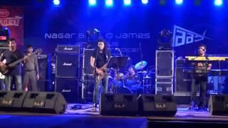 """""""পাগলা হাওয়া """"James Live on বিবর্ত ১১, Rag'15, Khulna University."""