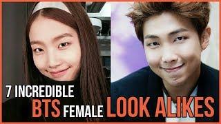 Incredible BTS female look alikes