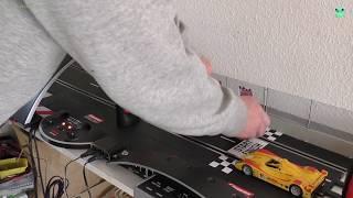 Carrera Dualbetrieb bauen - Teil 7 / 8  Crashschalter und Test - Carrera Bahn