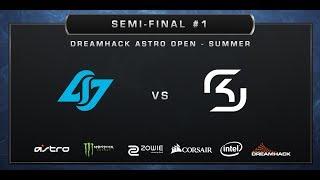 CS:GO - CLG vs. SK-Gaming - Train - Semi-finals - DreamHack ASTRO Open Summer 2017