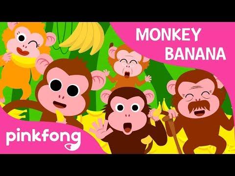 Xxx Mp4 Monkey Banana Animal Songs PINKFONG Songs For Children 3gp Sex