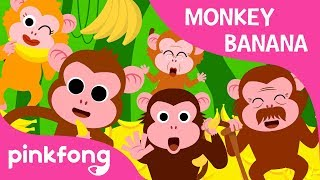 Monkey Banana | Animal Songs | PINKFONG Songs for Children