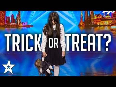 Xxx Mp4 SCARIEST MAGIC TRICK Creepy Girl Freaks Out Asia S Got Talent Judges 3gp Sex