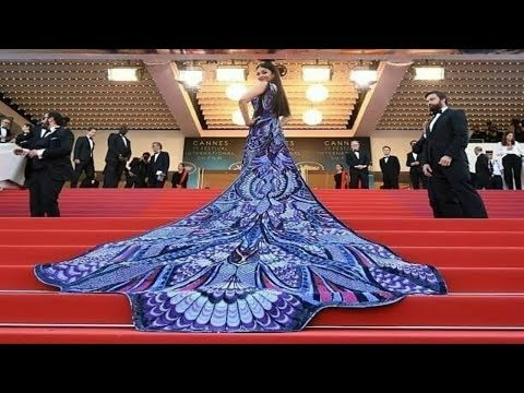 Xxx Mp4 Aishwarya Rai Bachchan In Michael Cinco At Cannes 2018 Red Carpet On Her Day 1 3gp Sex