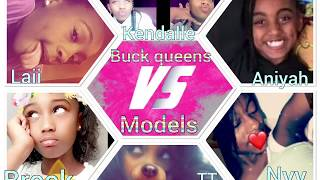 LIT Musical.ly Dance Battle - Buck Queens vs Models 2017