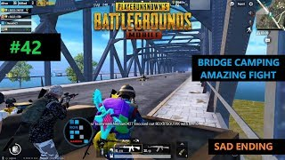 "[Hindi] PUBG MOBILE | ""21 KILLS"" AMAZING FIGHT NEAR THE BRIDGE WITH SAD ENDING"
