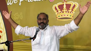 22-4-2018 Hosanna Ministries Special Meeting in Bapatla Message Pas.JOHN WESLY