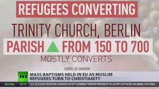 Mass Baptisms: More Muslim refugees coming to EU convert to Christianity