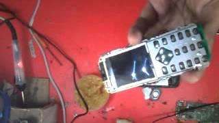 Nokia c1 display light problem 100% solution