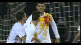 Insigne Goal ►Itália vs Spagna 1-1►World Cup 2018 Qualifiers 24.03.2016
