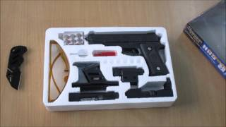 unboxing of Laser Air Sports Gun Toy For kids 1 1 REAL SCALE ebay