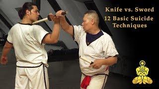 AWUD - Knife vs. Thai Sword - 12 Basic Suicide Techniques