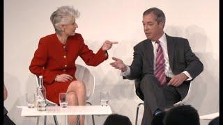 Populism or Democracy? Swedish MEP takes on Nigel Farage in Euronews panel in London