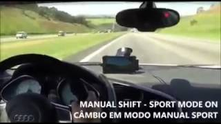 Audi r8 vs Motorcycle