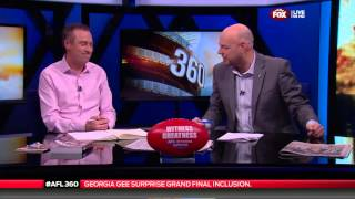 GEORGIA GEE FOX FOOTY FAN STUDIO