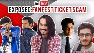 Exposed : Fan Fest Ticket Scam FT. BB KI VINES-Carry Minati-Tanmay Bhatt
