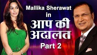 Mallika Sherawat in Aap Ki Adalat (Part 2) - India TV