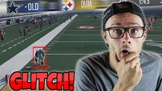 IS THIS EVEN FAIR?? GLITCHING PEOPLE ALL THE WAY THROUGH THE SUPERBOWL!! Madden 18 RTE