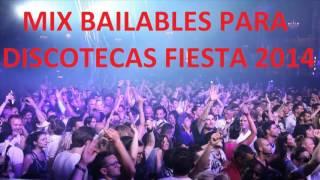 Mix Bailable Para Discotecas 2015-2016 (Dj Alfredo) - Discoteca Generacion