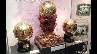Super Ballon D'or Di Stefano 1989 Above Messi and Cristiano Ronaldo