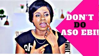 Adenike Uncut 040: Don't Do Aso Ebi | Lessons From My Wedding