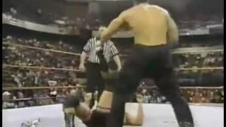 The Rock/Owen Hart vs Farooq/Steve Blackman