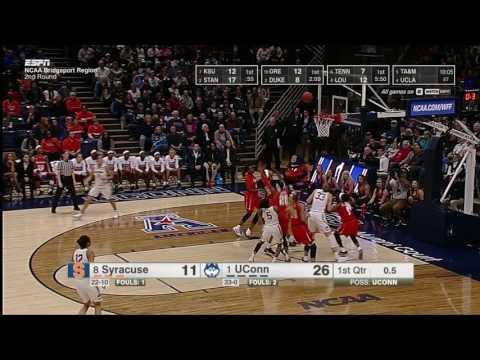UConn Women s Basketball vs Syracuse Highlights