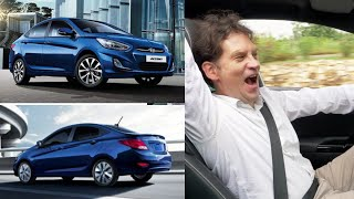 2017 HYUNDAI ACCENT REAL REVIEW DAZZLING BLUE