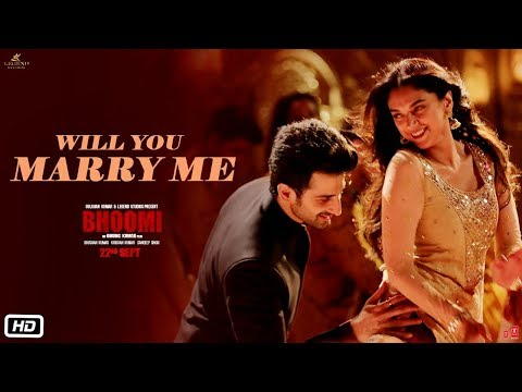 Xxx Mp4 Will You Marry Me Video Song Bhoomi Aditi Rao Hydari Sidhant Sachin Jigar Divya Amp Jonita 3gp Sex