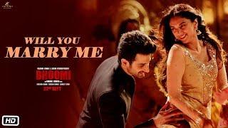Will You Marry Me Video Song Bhoomi Aditi Rao Hydari Sidhant Sachin Jigar Divyajonita