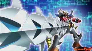 Digimon Fusion - Shoutmon X4