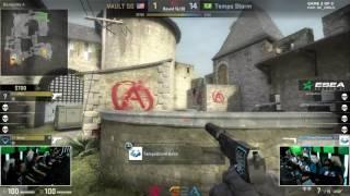 CS:GO - boltz ridiculous 1v4 pistol round x Vault 720p60fps [ESEA Premier S21 Finals]