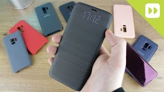 Samsung Galaxy S9 / S9 Plus Official Case Round-Up - First Look