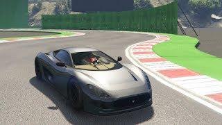 GTA 5 Super Car Track Testing (Ocelot XA-21)