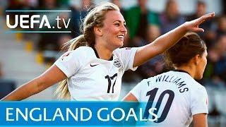 England goals - UEFA Women's EURO
