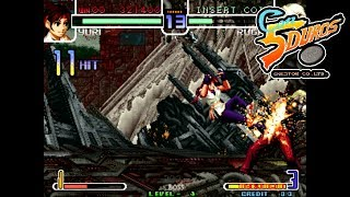 THE KING OF FIGHTERS 2002 BOSS VERSION HACK -