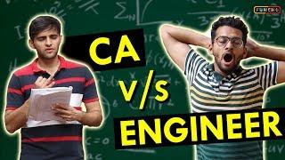 CA vs ENGINEER   Funcho Entertainment   Shyam Sharma   Dhruv Shah