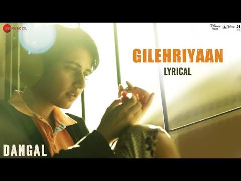Gilehriyaan - Lyrical Video | Dangal | Aamir Khan | Pritam | Amitabh Bhattacharya