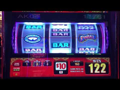 Pinball Slot Machine - High Limit - $30/spin - Jackpot Handpay - Back to Back Bonuses