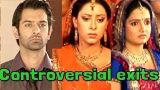 'The Most Controversial Exits' in Indian Serials