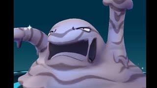 Pokemon GO !! 臭泥/臭臭泥 Muk evolution from Grimer 寶可夢 進化